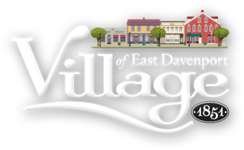 The Village of East Davenport logo